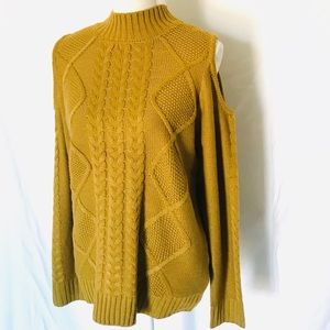 ONE A Cold Shoulder Knitted sweater